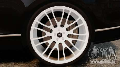 Bentley Continental GT Imperator Hamann EPM pour GTA 4 est une vue de l'intérieur
