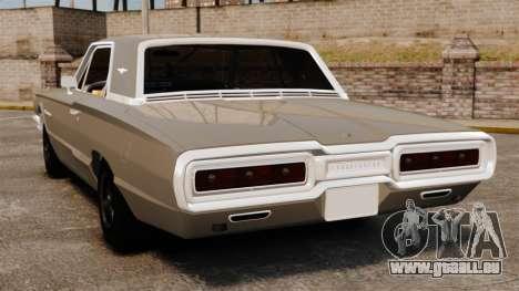Ford Thunderbird 1964 für GTA 4 hinten links Ansicht