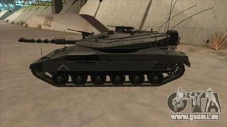Merkava IV pour GTA San Andreas laissé vue