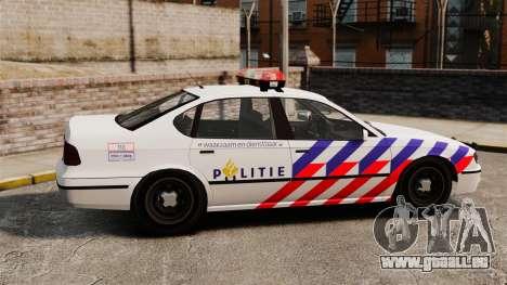 Police néerlandaise pour GTA 4 est une gauche