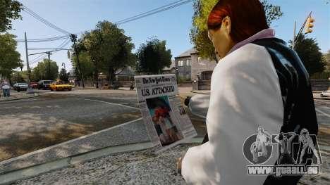 Le New York Times v2 pour GTA 4 secondes d'écran