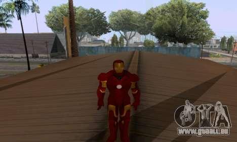 Skins Pack - Iron man 3 pour GTA San Andreas dixième écran