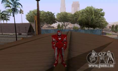 Skins Pack - Iron man 3 für GTA San Andreas her Screenshot