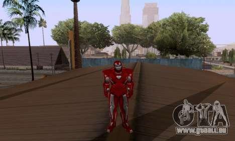 Skins Pack - Iron man 3 pour GTA San Andreas quatrième écran