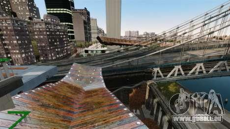 Piste vertigineuse pour GTA 4 cinquième écran