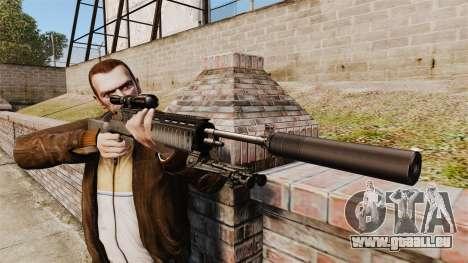 M21-Scharfschütze-Gewehr-v1 für GTA 4 dritte Screenshot