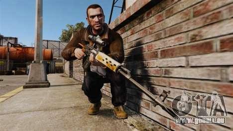 Dragunov Scharfschütze-Gewehr-v4 für GTA 4 dritte Screenshot