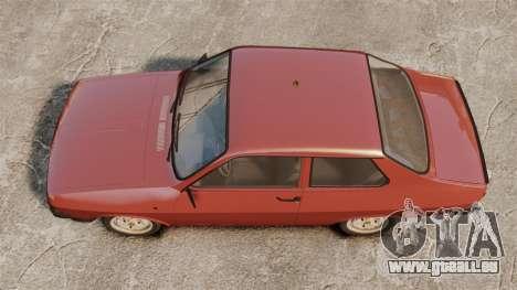 Dacia 1310 Sport v1.1 pour GTA 4 est un droit