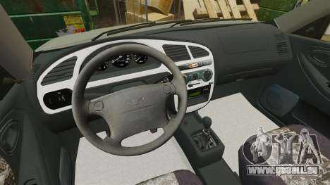 Daewoo Lanos FL 2001 pour GTA 4 est un côté