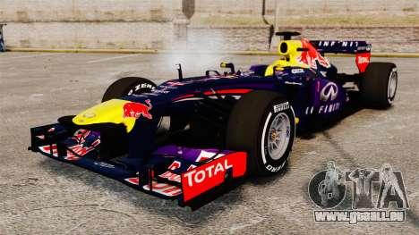 Auto, Red Bull RB9 v4 für GTA 4