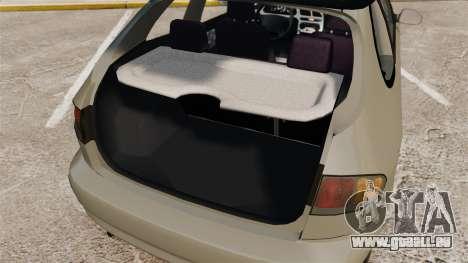 Daewoo Lanos FL 2001 für GTA 4 obere Ansicht