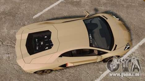 Lamborghini Aventador LP700-4 2012 v2.0 für GTA 4 rechte Ansicht