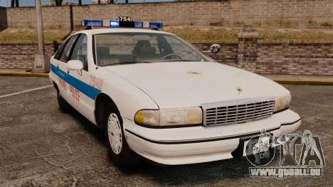 Chevrolet Caprice 1991 [ELS] v2 für GTA 4