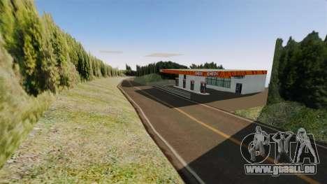 Neuen Speicherort Hakone für GTA 4 sechsten Screenshot