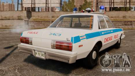 Dodge Aspen 1979 [ELS] für GTA 4 hinten links Ansicht