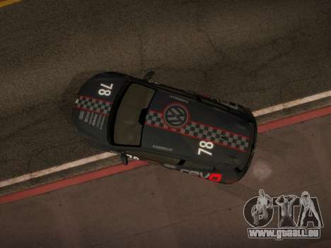 Volkswagen Scirocco pour GTA San Andreas moteur