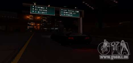 ENB Graphic Mod pour GTA San Andreas huitième écran