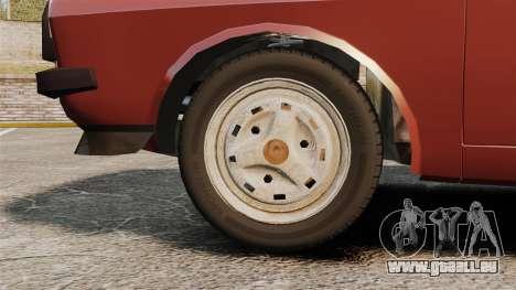 Dacia 1310 Sport v1.1 für GTA 4 Rückansicht