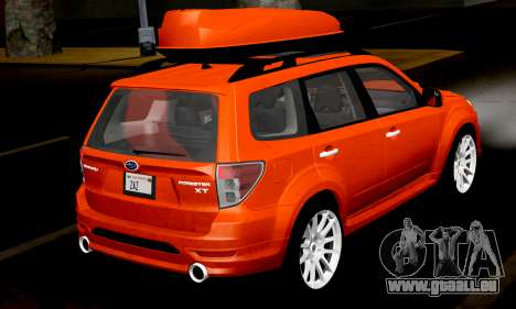 Subaru Forester RRT Sport 2008 v2.0 pour GTA San Andreas vue de droite