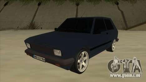 Zastava Yugo 1.1 pour GTA San Andreas