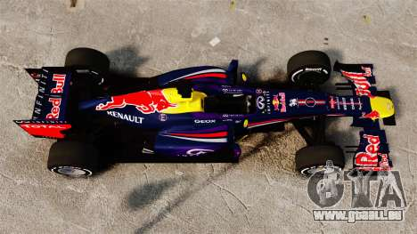 Auto, Red Bull RB9 v4 für GTA 4 rechte Ansicht