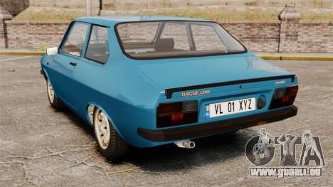 Dacia 1310 Sport v1.2 pour GTA 4 Vue arrière de la gauche