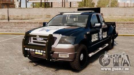 Ford F-150 De La Policia Federal [ELS & EPM] v3 pour GTA 4
