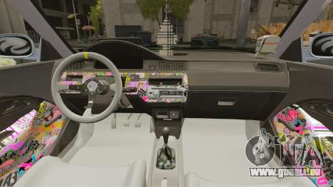 Honda Civic Gtaciyiz pour GTA 4 est une vue de l'intérieur