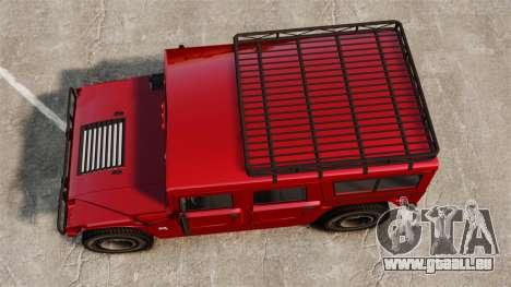 Hummer H1 für GTA 4 rechte Ansicht