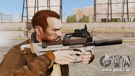 Belge FN P90 pistolet mitrailleur v3 pour GTA 4