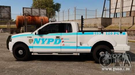 Ford F-150 v3.3 NYPD [ELS & EPM] v1 pour GTA 4 est une gauche