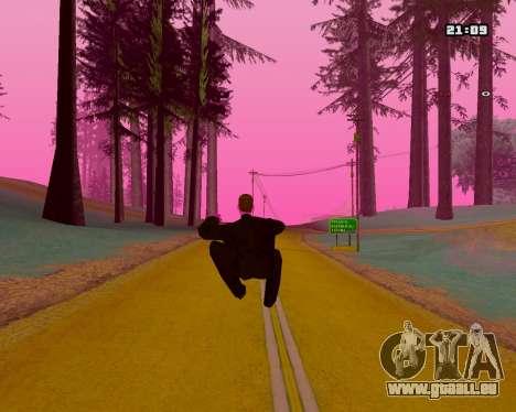 Pink NarcomaniX Colormode pour GTA San Andreas quatrième écran