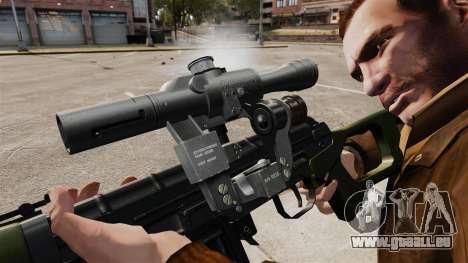 Dragunov sniper rifle v3 pour GTA 4 quatrième écran