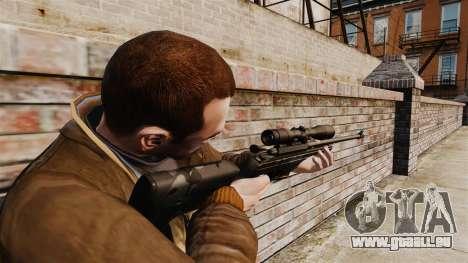 Scharfschützengewehr Sako TRG-42 für GTA 4 Sekunden Bildschirm