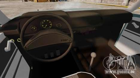 Volkswagen Brasilia für GTA 4 Innenansicht
