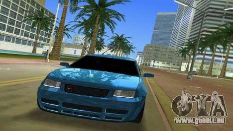 Volkswagen Bora pour GTA Vice City vue arrière