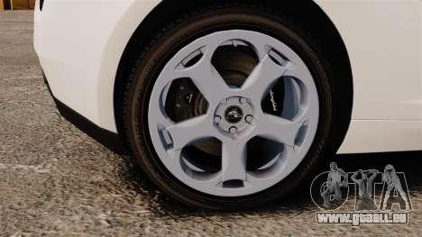 Lamborghini Gallardo 2005 [EPM] Italian pour GTA 4 Vue arrière