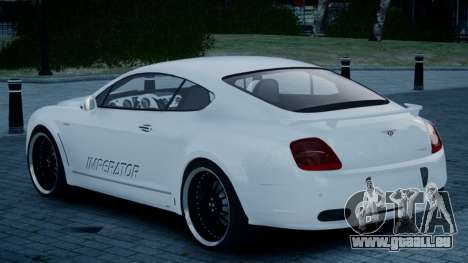 Bentley Continental GT Hamann Imperator pour GTA 4 est une gauche