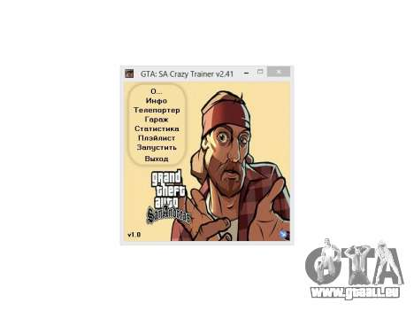 Crazy Trainer 350 v2.41 SA:MP pour GTA San Andreas