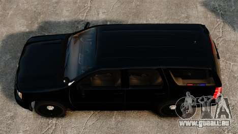 Chevrolet Tahoe 2008 Unmarked ELS für GTA 4 rechte Ansicht