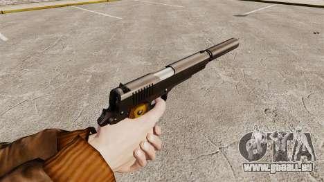 Colt 1911 pistolet v1 pour GTA 4 secondes d'écran