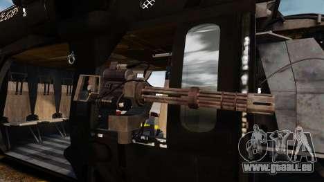 Sikorsky MH-60L Black Hawk für GTA 4 Innenansicht