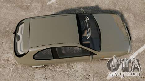 Daewoo Lanos FL 2001 pour GTA 4 est un droit