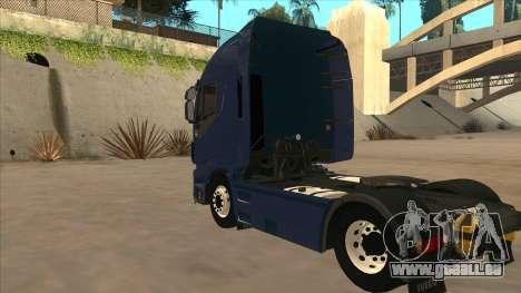 Iveco Stralis HI-WAY für GTA San Andreas rechten Ansicht