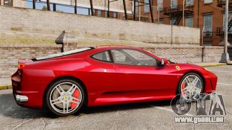 Ferrari F430 2005 für GTA 4 linke Ansicht