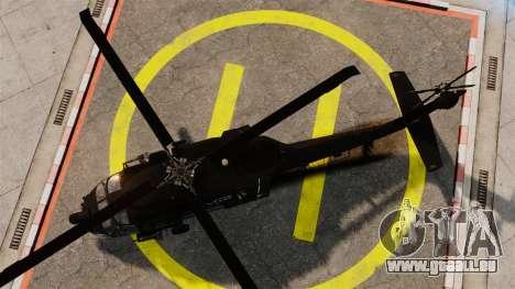 Sikorsky MH-60L Black Hawk für GTA 4 rechte Ansicht