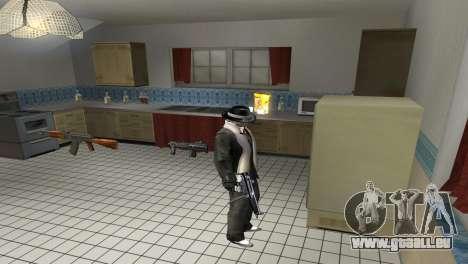 Full Weapon Pack pour GTA San Andreas deuxième écran