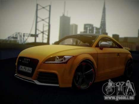 Audi TT RS 2013 pour GTA San Andreas vue arrière