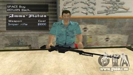 Full Weapon Pack pour GTA San Andreas sixième écran