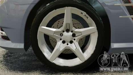 Mercedes-Benz SL500 2013 pour GTA 4 Vue arrière